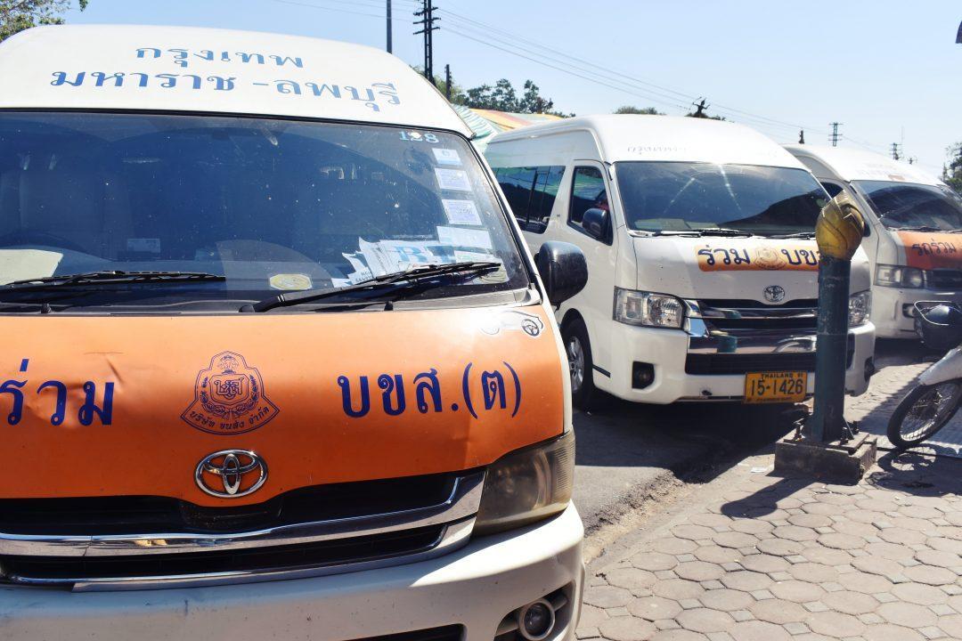 Bangkok to Lopburi Van