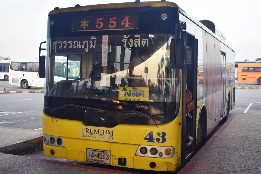 Bangkok Bus 554 Suvarnabhumi to Don Muang