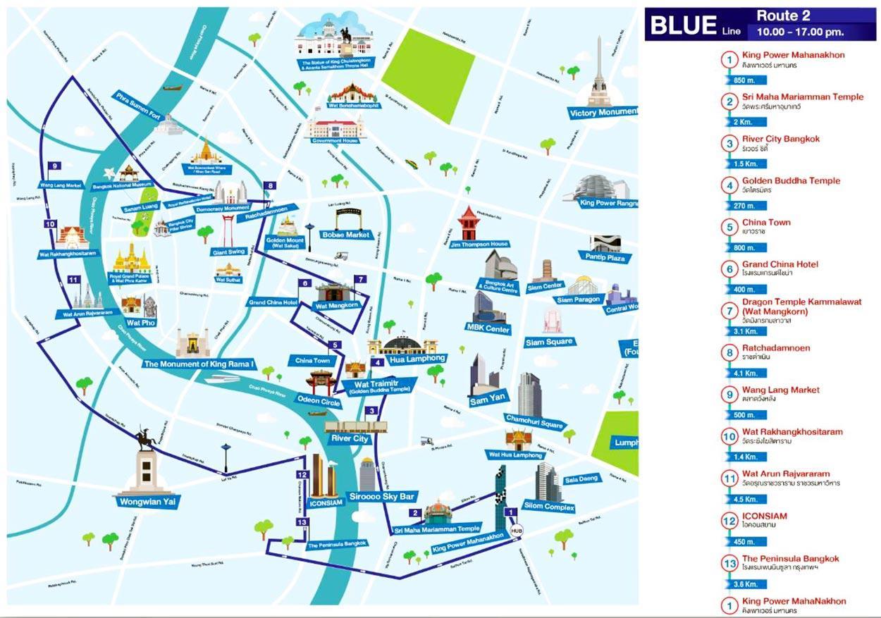 Bangkok Open Top Bus Tour
