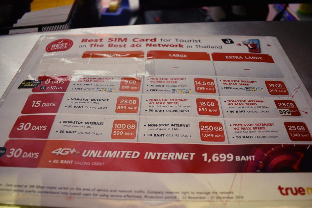 Don Muang Airport Tourist Sim Card
