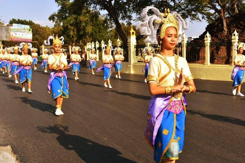 King Narai Fair Parade 2020