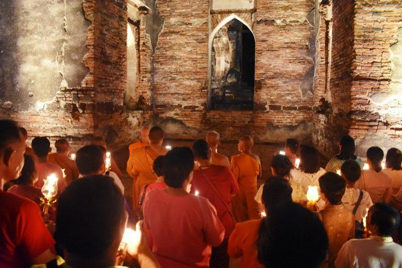 Buddhist Ceremony in Lopburi