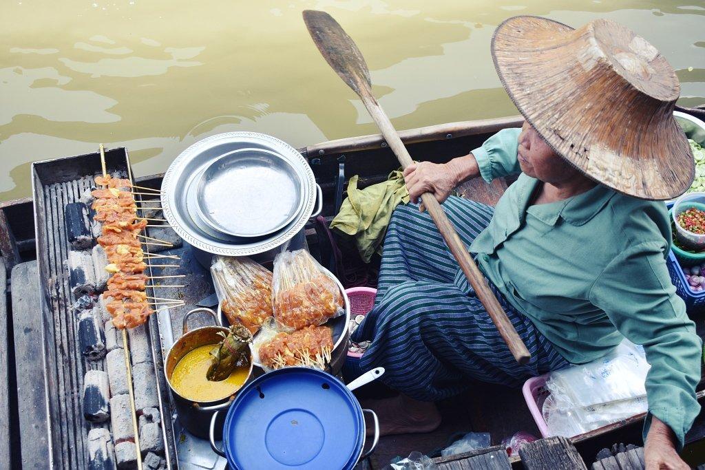 DSC 0821 1 - Damnoen-Saduak Floating Market