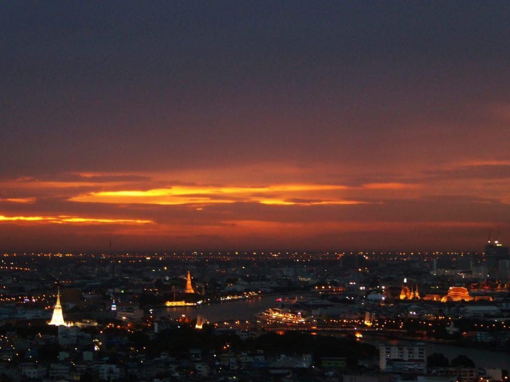 360 Bar Bangkok Sunset View