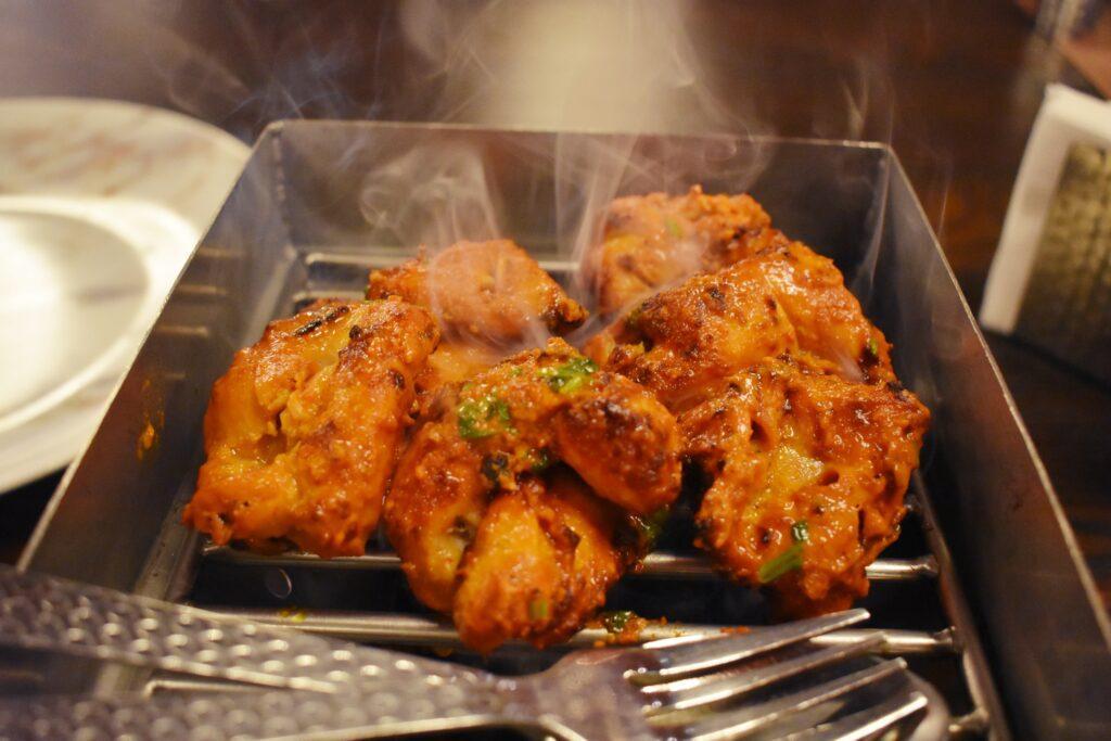 Chicken Tikka in Bangkok at Patiaala House