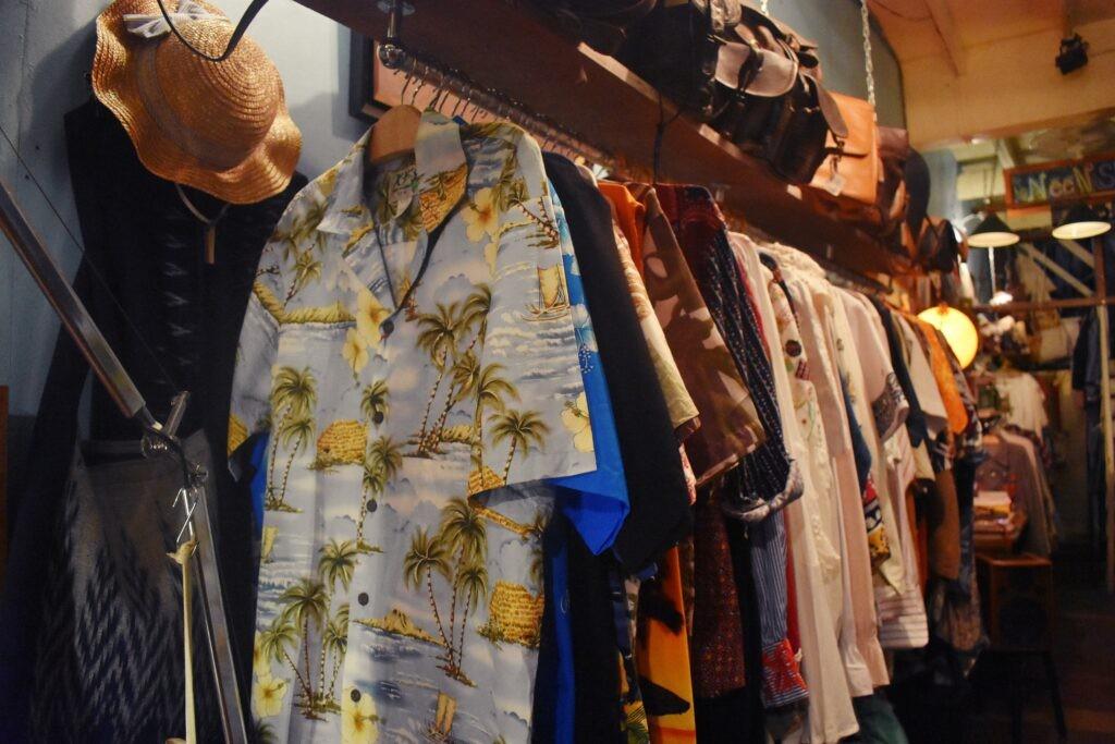 Vintage clothing stores in Bangkok