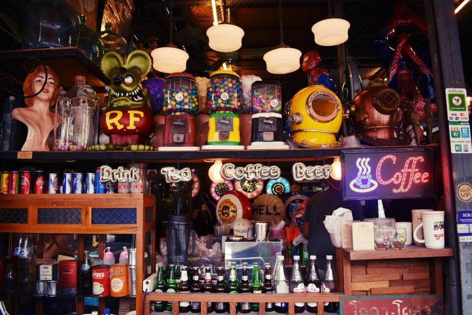 vintage retro shops Bangkok