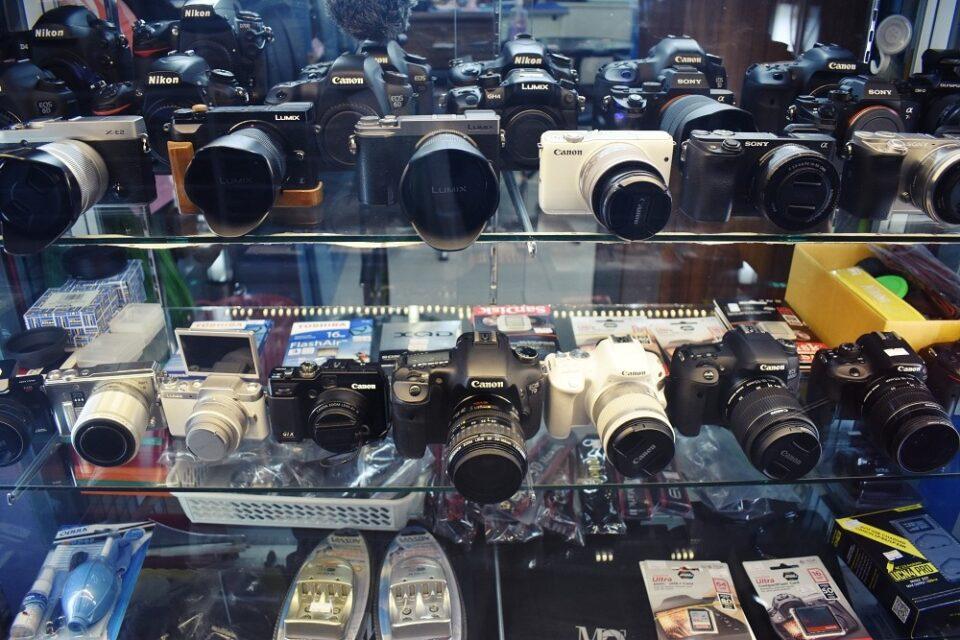 Vintage Camera Shop in Bangkok