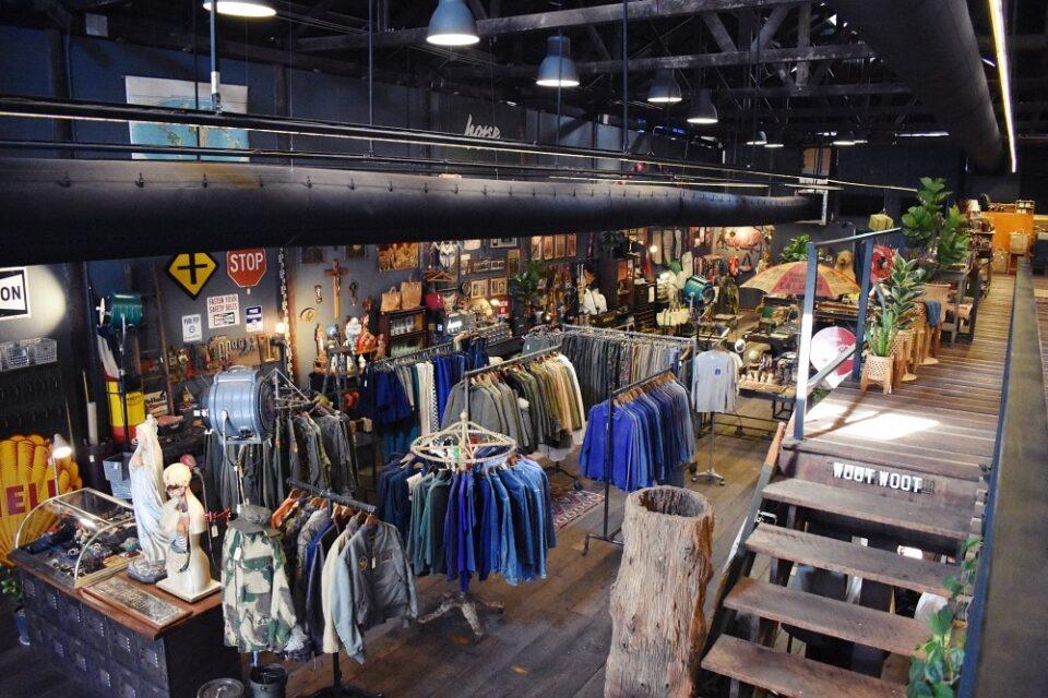 Vintage Clothing store in Bangkok