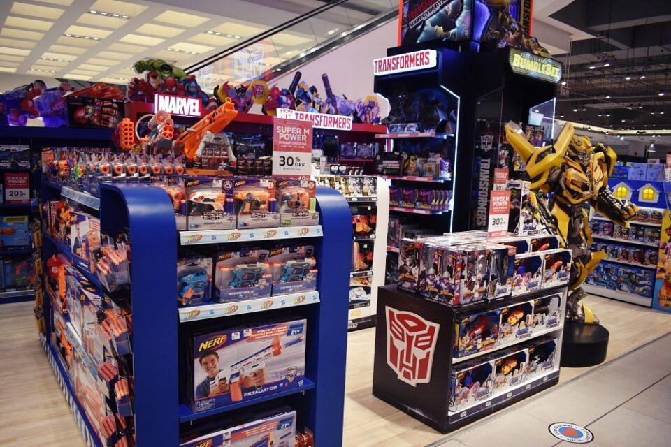 Siam Paragon Toy Department